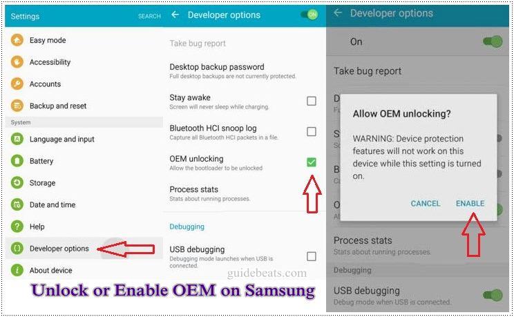 Samsung - ChimeraTool help