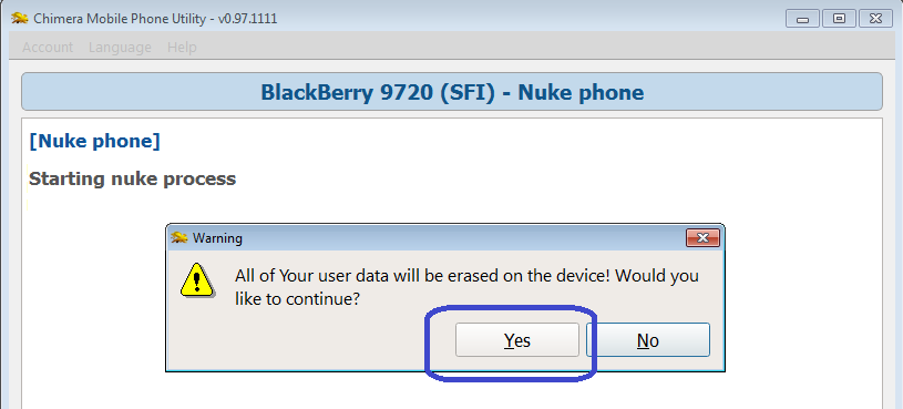 Nuke Blackberry