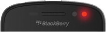 blackberry redblink error