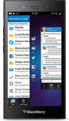 BlackBerry Z3 STJ100-1