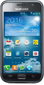 Samsung Calendario.Samsung Galaxy S Gt I9000m A Supported Samsung Model By