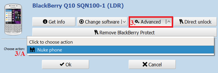 BlackBerry OS10 functions and descriptions - ChimeraTool help